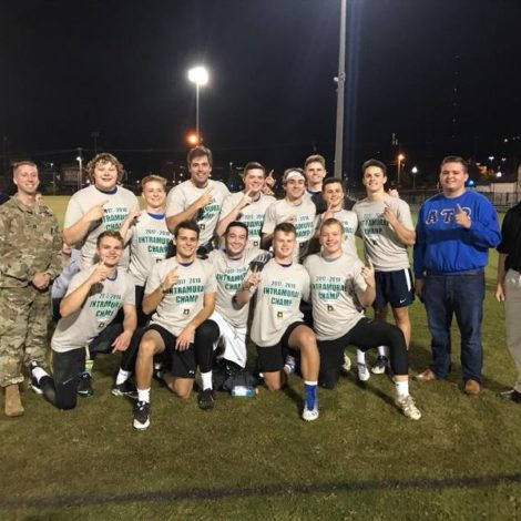 Back to back intramural flag football champions! (Alabama Birmingham 20171029)