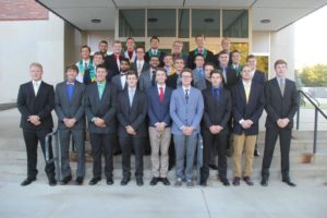 Ball State Pins 12 New Members (Ball State 20150916)