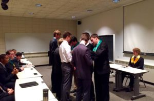 Pinning Ceremony for 4 New Members (Drake 20151102)