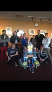 Brothers prepare for homecoming with donations (Grand Valley State 20161013)