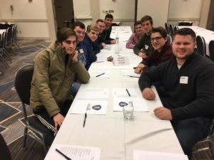 Nu/Xi Class Attend ELC (Grand Valley State 20170211)