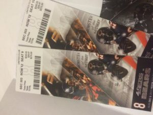 Philanthropy Casino Night Prize - Bears 49ers Tickets (Illinois 20151109)