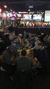 Theta Iota at Buffalo Wild Wings (Millikin 20170319)
