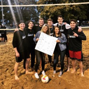 Gamma Zeta Wins KKG Volleyball (Illinois 20181022)