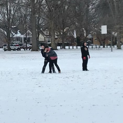 Snow Football (Louisville 20180113)