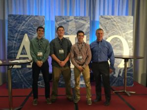 Marietta College Beta Rho Chapter at the President Retreat 2016 (Marietta 20160114)