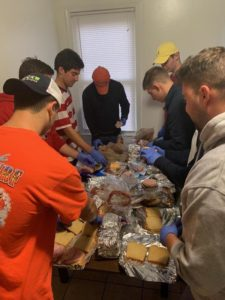 Alpha Tau Omega Brothers Spread Hope for the Homeless (Maryland 20181111)