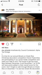MU Miracle (Mercer 20171205)