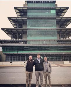 Harrison, Daus, and Glazer travel to Indianapolis (Missouri 20171127)