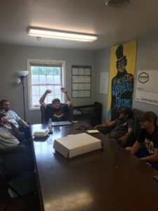 First meeting of the year (Murray State 20180813)
