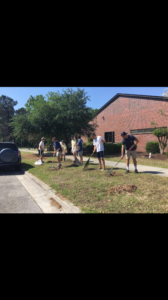 Good shepherd volunteers (North Carolina Wilmington 20170421)