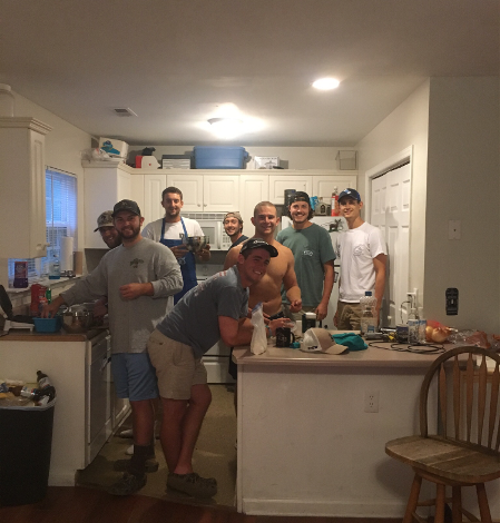 Fish fry (North Carolina Wilmington 20170830)