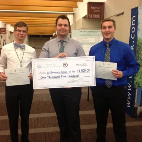 Brother wins engineering competition in Minneapolis (North Dakota State 20151116)