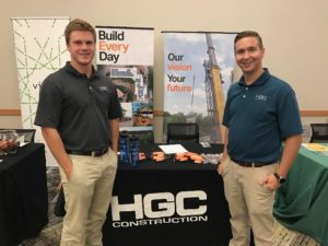 HGC Construction Career Fair, Brother Pelley and Sunderhaus (Northern Kentucky 20170927)