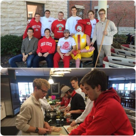 Beta Omega at the Ronald McDonald House (Ohio State 20160404)