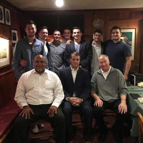 Formal Dinner with Alumni Board and special guest Lee Rubin (Penn State 20171103)