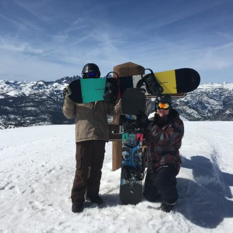 Spring Break 2016 in Mammoth (Pepperdine 20160307)