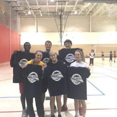 Coed indoor volleyball championship (Simpson 20171105)