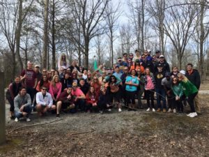 Giant City with Delta Zeta (Southern Illinois 20160309)