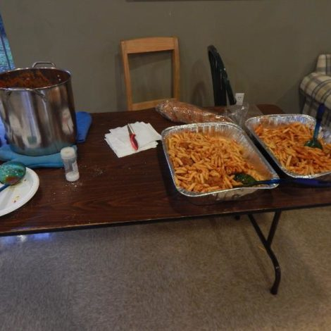 Brotherhood Pasta Night (Stetson 20160307)
