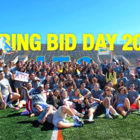 Spring Bid Day 2017 - Alpha Alpha Class (Texas Arlington 20170222)