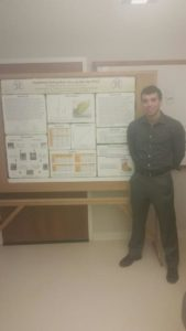 Brother Presents Research at Chemistry Poster Session (Washington & Jefferson 20151205)