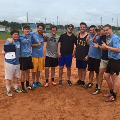 Eta Psi Wins Sorority Kick Ball Tournament (West Florida 20151008)