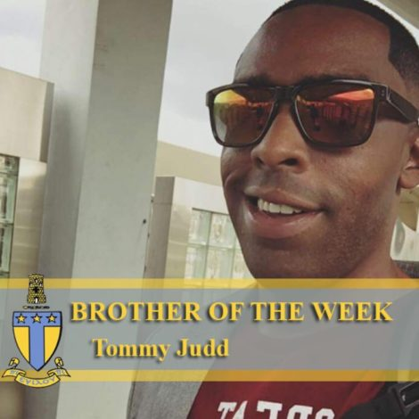 Eta Psi Chapter Brother of the Week (West Florida 20180124)