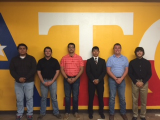 Pledge Class Executive Board (West Texas A & M 20151001)
