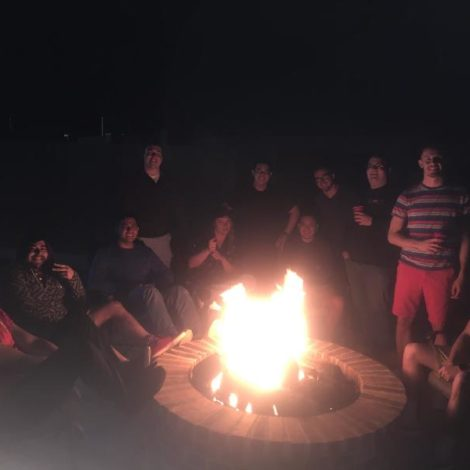 Brotherhood Cookout (West Texas A & M 20170311)