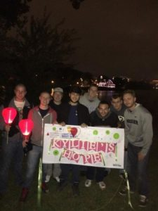 Brothers at Light The Night Walk in Philly 2015 (Widener 20151101)