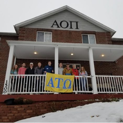 Alpha Omicron Pi and ATO IY