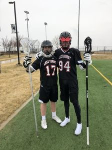 Bob and Nick at Club lacrosse!