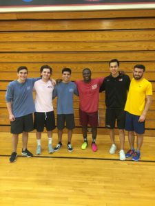 Alpha Pi participates in APO Volleyball tournament
