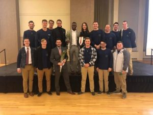 Brother Parker wins Alpha Omicron Pie's Sweetheart Competition