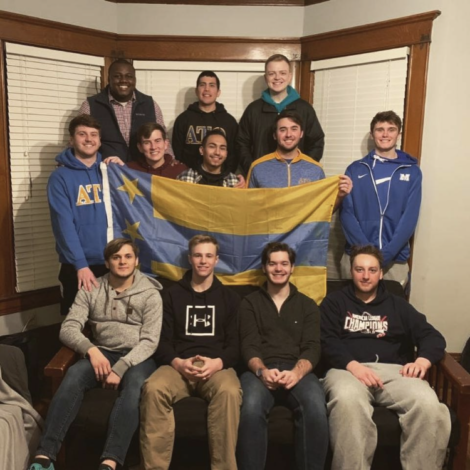 Gamma Kappa Pledge Class Picks Big Brothers