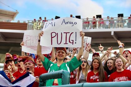 Cincinnati Reds PUIG Section