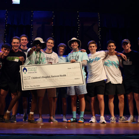 ATO at georgia College Wins Top fraternity Fundraiser for Dance Marathon 2019