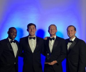 Eta Psi Chapter Brings Home Two Awards From ATO's Award Banquet