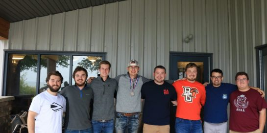 7 Brothers join Advisor Clemens on BGSU retreat