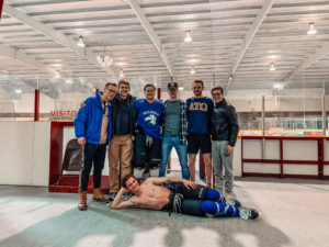 Beta Kappa Brothers Lead Hockey Team to Playoffs