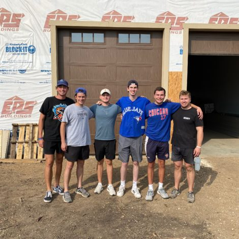Gamma Theta ATO's Volunteer To Assist In Building An Alumni Cabin