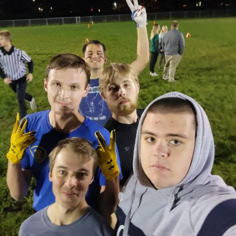 ATO Football Squads Both Clinch Playoffs in Fraternal Flag Football League
